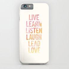 Life Words Slim Case iPhone 6s