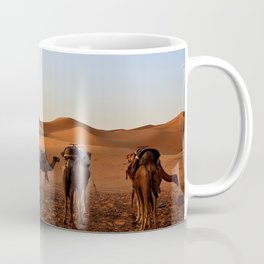 Group of Camels Resting Coffee Mug