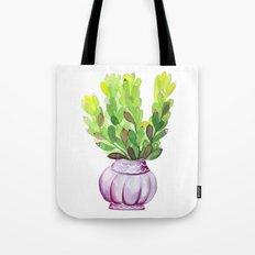 Succulent Vase Tote Bag
