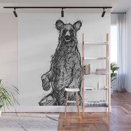 Black Bear Wall Mural