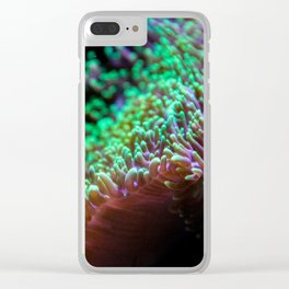 microscopic colours Clear iPhone Case