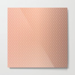 Art Deco, Simple Shapes Pattern 1 [ROSE GOLD] Metal Print