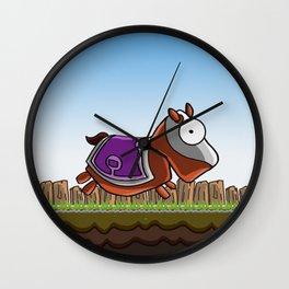 Joust It (Horsey) Wall Clock