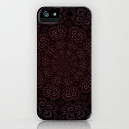Pure Evil Pansies - Fall 2018 iPhone Case