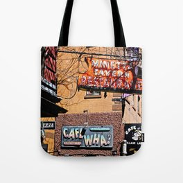 Signs of Greenwich Village, NYC Tote Bag