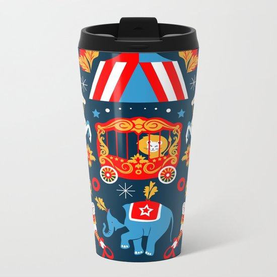 Circus royal Metal Travel Mug