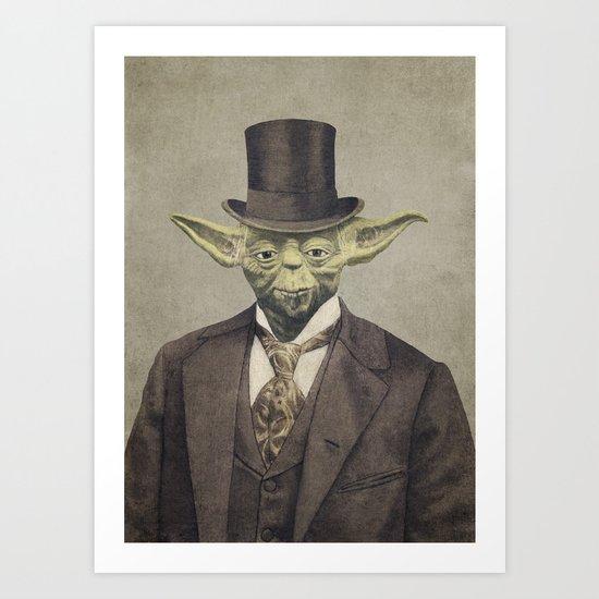 Sir Yodington  Art Print