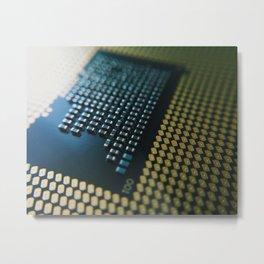 Technology Metal Print