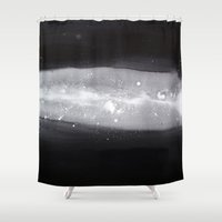 milk Shower Curtains featuring Milk by Stasia B