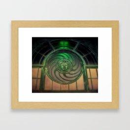 Carousel House Framed Art Print