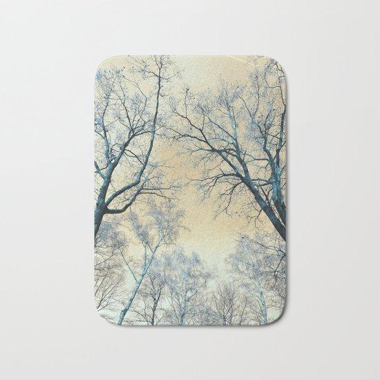 Trees nature infrared landscape Bath Mat
