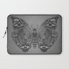 Butterfly skulls 3 Laptop Sleeve