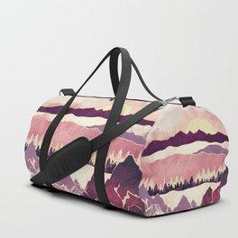 Burgundy Hills Duffle Bag