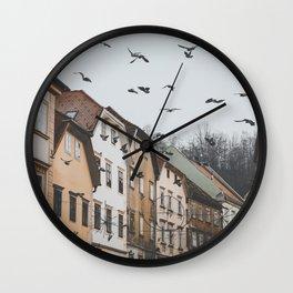 Ljubljana, Slovenia I Wall Clock