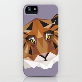 T is for Tiger iPhone Case