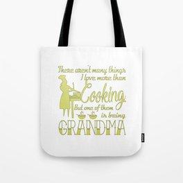 Cooking Grandma Tote Bag