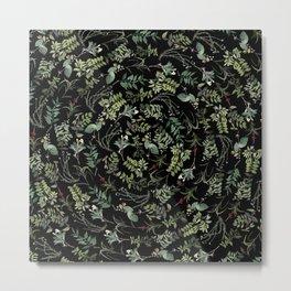 Circular Nature Metal Print