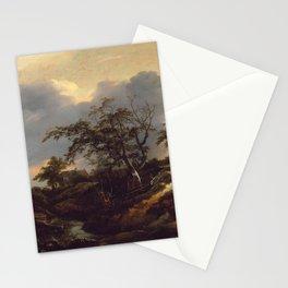Jacob van Ruisdael - Landscape with Dunes Stationery Cards