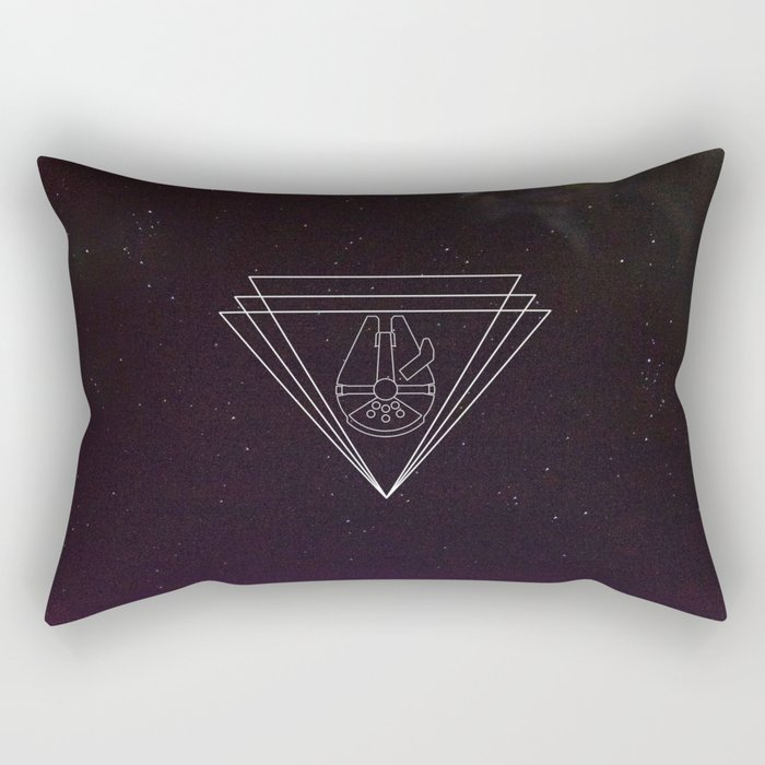 Take Flight (II) - Millennium Falcon Rectangular Pillow