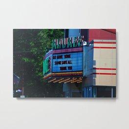 Maumee Movie Theater I Metal Print