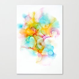 Cotton Candy And Puffalumps Canvas Print