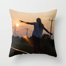 Freedom Comes From The Call Throw Pillow