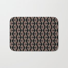 Impossible Triangle Pattern Bath Mat
