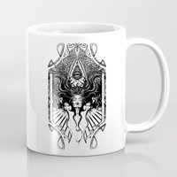goddess Mugs featuring Goddess by 6amcrisis