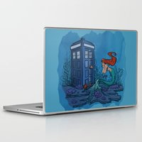 hallion Laptop & iPad Skins featuring Part of Every World by Karen Hallion Illustrations