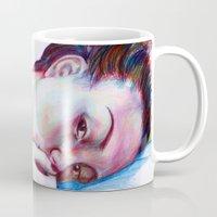 instagram Mugs featuring Instagram Portrait by Debbie Chessell