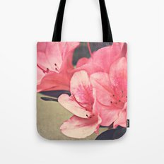 Strawberry Flowers Tote Bag
