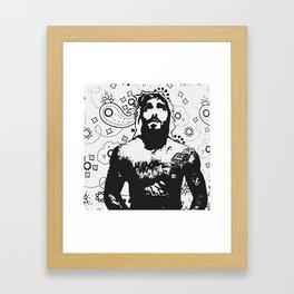 Jesus Piece #1 Framed Art Print