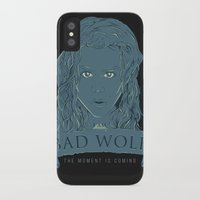 bad wolf iPhone & iPod Cases featuring Bad Wolf by Amdy Design