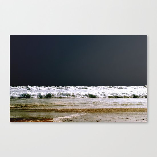 night dip Canvas Print