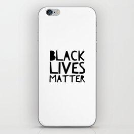 Black Lives Matter 2 iPhone Skin