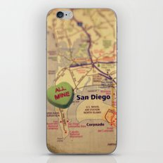 All Mine San Diego iPhone & iPod Skin