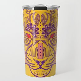 Zentangle Tiger  Travel Mug