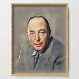 C. S. Lewis, Literary Legend Serving Tray
