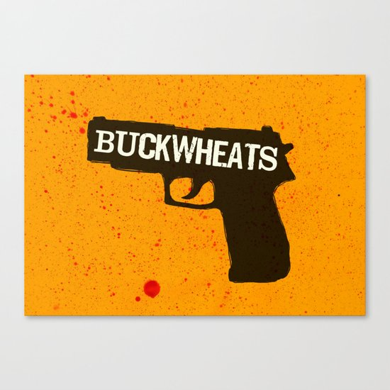 Buckwheats Canvas Print
