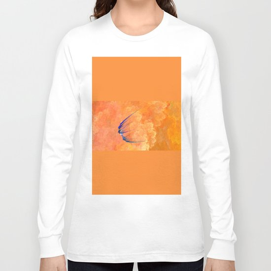 on the journey   (A7 B0008) Long Sleeve T-shirt