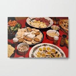 Appetizing Feasts #1 Metal Print