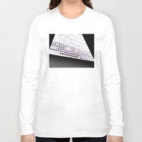 building Long Sleeve T-shirts featuring Building by ONEDAY+GRAPHIC
