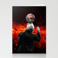 football Stationery Cards featuring Football by Cs025