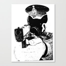 Here Comes the Fuzz Canvas Print