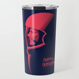 Jurij Gagarin Travel Mug