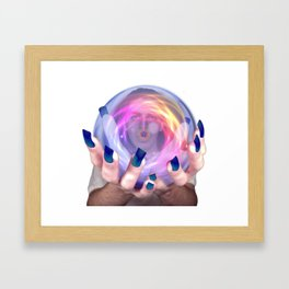 Little Star Framed Art Print