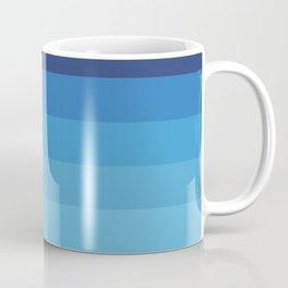 Butterfly Princess Blue Stripes Coffee Mug