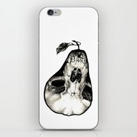 pear iPhone & iPod Skins featuring Pear by Nikole Stark