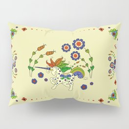 Swedish Unicorn Pillow Sham