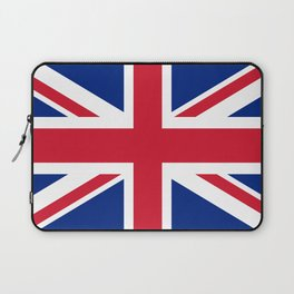 UK FLAG - The Union Jack Authentic color and 3:5 scale  Laptop Sleeve